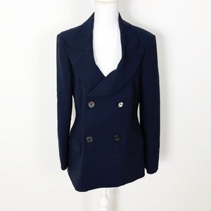 Michael Kors Made In Italy Closed Button Blazer